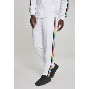 Urban Classics Side Taped Track Pants wht/multicolor