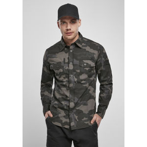 Brandit Slim Worker Shirt dark camouflage