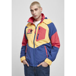 Urban Classics Starter Multicolored Logo Jacket red/blue/yellow