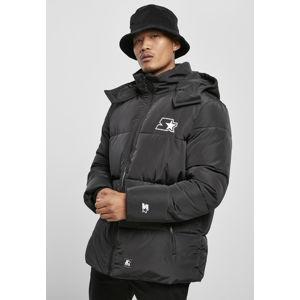 Starter Puffer Jacket schwarz