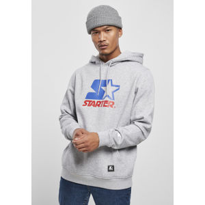 Starter Two Color Logo Hoody h.grey