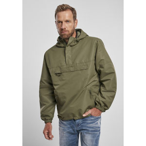 Urban Classics Summer Pull Over Jacket olive