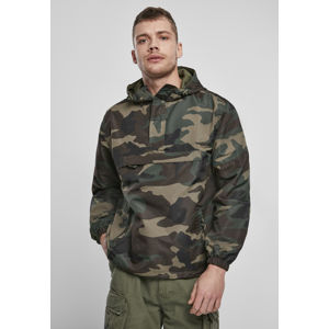 Urban Classics Summer Pull Over Jacket woodland