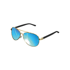 Urban Classics Sunglasses Mumbo Mirror gold/blue