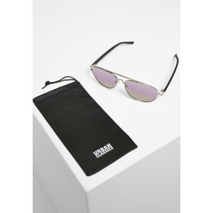 Urban Classics Sunglasses Mumbo Mirror UC silver/purple