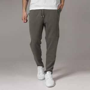 Urban Classics Tapered Interlock Sweatpants olive