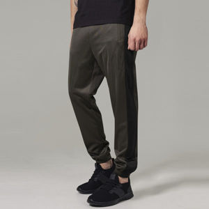 Urban Classics Track Pants darkolive/black