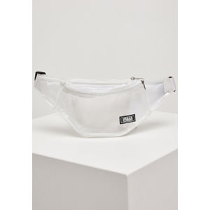 Urban Classics Transparent Shoulder Bag transparent white