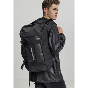 Urban Classics Traveller Backpack black
