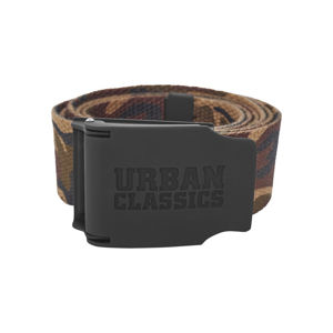 Urban Classics Woven Belt Rubbered Touch UC wood camo