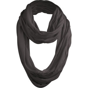 Urban Classics Wrinkle Loop Scarf h.charcoal