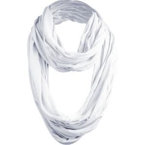 Urban Classics Wrinkle Loop Scarf white