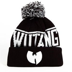 Wu-Tang Logo Winter Black