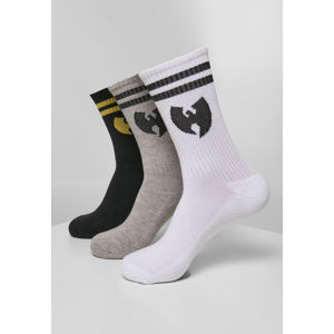 Wu-Wear Wu Wear Socks 3-Pack wht/gry/blk